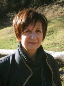 La poetessa Marina Corona