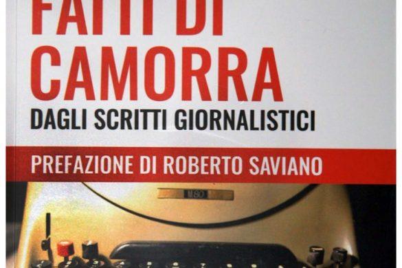 """La copertina del libro """"Fatti di camorra"""" dagli scritti giornalistici di Giancarlo Siani"""