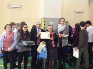 Umberto Di Donato con i concorrenti.