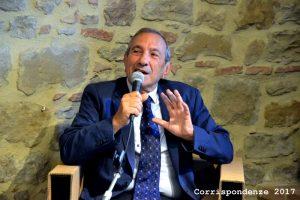 Umberto Di Donato durante il suo intervento al Festival.