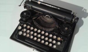 La macchina da scrivere utilizzata da Hemingway